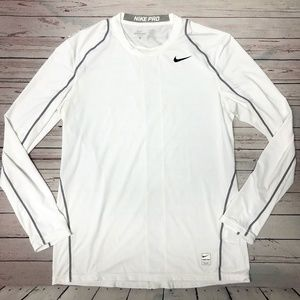 Men's Nike Pro Dry-fit Fitted Workout Shirt